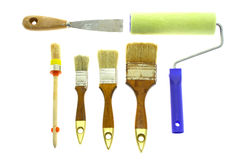 Outils relatifs à la maison Photo stock