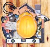 outils sous forme de maison Photos stock