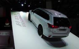 Outlander novo de Mitsubishi nos carros de IAA Imagem de Stock