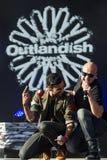 Outlandish. At the Novo Nordisk festival 2014 Royalty Free Stock Photos