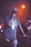 Outlawz生活音乐会在莫斯科俄罗斯 库存照片