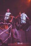 Outlawz生活音乐会在莫斯科俄罗斯 免版税库存图片