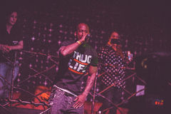 Outlawz live concert in Moscow Russia Stock Photo