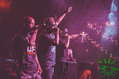Outlawz live concert in Moscow Russia Royalty Free Stock Photos