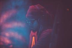 Outlawz żywy koncert w Moskwa Rosja Zdjęcie Stock