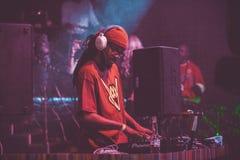 Outlawz żywy koncert w Moskwa Rosja Zdjęcia Stock