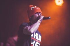 Outlawz żywy koncert w Moskwa Rosja Obrazy Stock