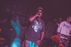 Outlawz żywy koncert w Moskwa Rosja Zdjęcie Royalty Free