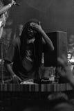Outlawz żywy koncert w Moskwa Rosja Fotografia Stock