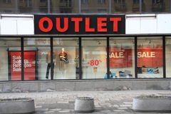 Outlet Royalty Free Stock Images