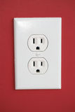 Outlet. Electrical Outlet Royalty Free Stock Image