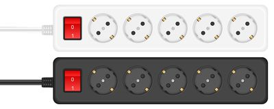 Outlet electrical socket Royalty Free Stock Image