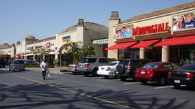 Outlet in LA. Shopping Outlet in LA USA royalty free stock photo