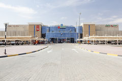 Outlet mall in Al Ain, UAE Stock Photo