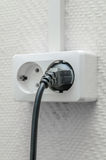 Outlet plug Royalty Free Stock Photo