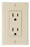 Outlets Royalty Free Stock Photography