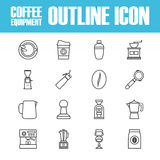 Outline coffee icon Royalty Free Stock Photo