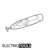 Outline electric drill Stock Photos