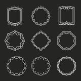 Outline frames Stock Photography