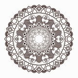 Outline Mandala for coloring book. Decorative elements. Oriental pattern, vector illustration. Anti-stress therapy pattern. Beautiful unusual circular pattern royalty free illustration