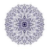 Outline Mandala. Decorative round ornament. Weave design element.   Stock Photos