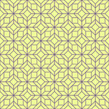 Outline pattern of rhombuses Royalty Free Stock Images