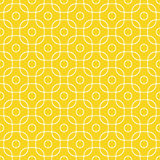 Outline pattern of squares with rounded corners. Royalty Free Stock Photos