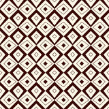 Outline seamless pattern with geometric figures. Ethnic wallpaper. Repeated rhombuses ornamental background Royalty Free Stock Photography