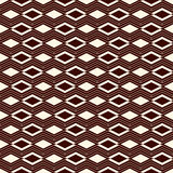 Outline seamless pattern with geometric figures. Repeated diamond ornamental background. Rhombuses and lines motif. Stock Photos