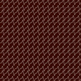 Outline seamless pattern with horizontal jagged lines . Repeated sharp edges stripes background. Waves wallpaper. Royalty Free Stock Images