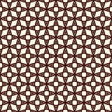 Outline seamless pattern with stylized repeating stars. Simple geometric ornament. Modern stylish texture. Royalty Free Stock Photos