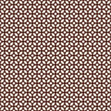 Outline seamless pattern with stylized repeating stars. Simple geometric ornament. Modern stylish texture. Royalty Free Stock Images