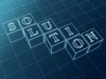 Outline Solution Stock Photo