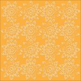The outline sun fabric pattern Royalty Free Stock Photography