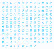 Outline vector icons for web and mobile Stock Photos