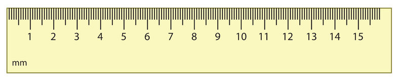 Drawing Lines Using A Ruler Worksheet : Outline vector ruler stock illustration of number
