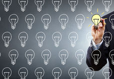 Outline your idea Royalty Free Stock Images
