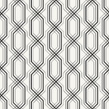 Outlined geometric background with complex repeating structure of crossing lines. Royalty Free Stock Photos