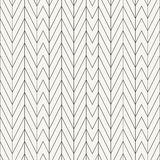 Outlined texture with repeating irregular chevron design Royalty Free Stock Images