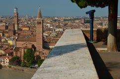 Outlook above Verona Stock Image