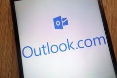 outlook E fotografia de stock royalty free