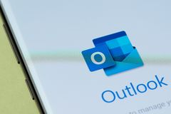 Free Outlook Email App Stock Images - 145813894