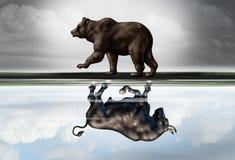 Outlook finanziario positivo Fotografia Stock Libera da Diritti