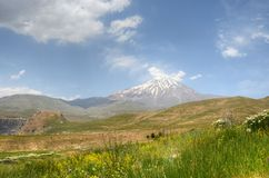 Free Outlook Of Mount Damavand From South Face , Alborz Mountains Iran Stock Photo - 160632590