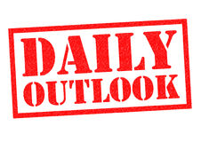 DAILY OUTLOOK Royalty Free Stock Photography