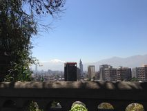 Outlook from Santa Lucía Hill Royalty Free Stock Photography