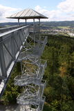 Outlook tower with bridge Stock Image
