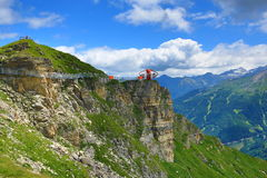 Outlook, The Way from Stubnerkogel, Bad Gastein, Funicular, Austria Royalty Free Stock Photography