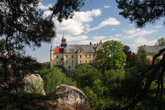 Hruba skala castle in Cesky raj , Czech republic Royalty Free Stock Images