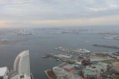 Outlook from Yokohama Landmark Tower Royalty Free Stock Image